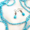 TURQUOISE EARRIGS AND NECKLACE | JoannSmyth.com Jewelry